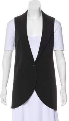 Elizabeth and James Notch-Lapel Button-Up Vest