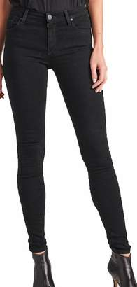Hudson Women's Jean Barbara HIGH Rise Super Skinny Jean WH407DEZ BLK