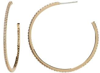 Banana Republic Pave Hoop Earring