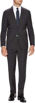 Vince Camuto Wool Striped Notch Lapel Slim Fit Suit