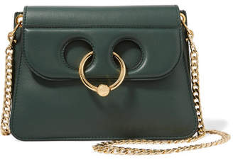 J.W.Anderson Pierce Mini Leather Shoulder Bag - Dark green