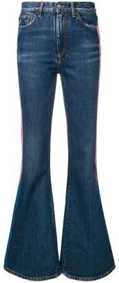 Marcelo Burlon County of Milan side panelled bootcut jeans