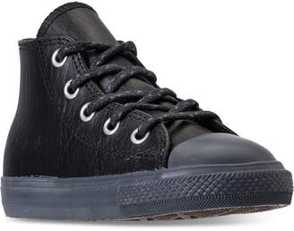 Converse Toddler Boys' Chuck Taylor Leather N Thermal High Top Casual Sneakers from Finish Line