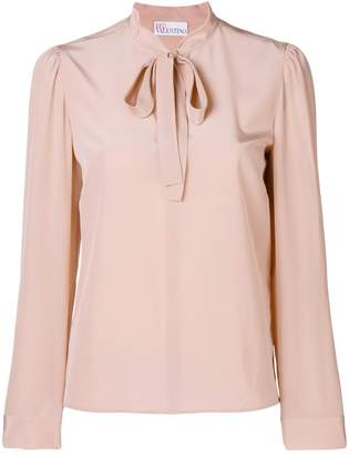 RED Valentino pussy bow longsleeved blouse