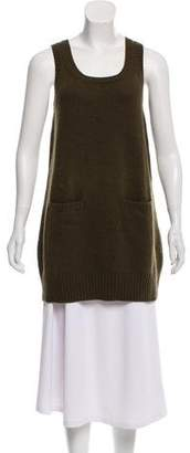 See by Chloe Wool Sleeveless Tunic