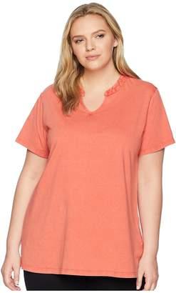 Aventura Clothing Plus Size Casia Short Sleeve Top Women's Clothing