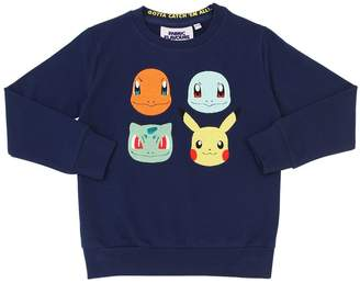 Pokemon Print Cotton Sweatshirt