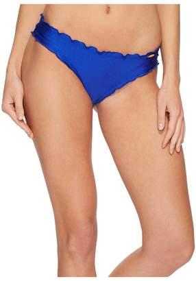 Luli Fama Cosita Buena Full Ruched Back Bikini Bottom Women's Swimwear