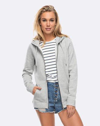Roxy Womens Just Simple Fleece Hoodie