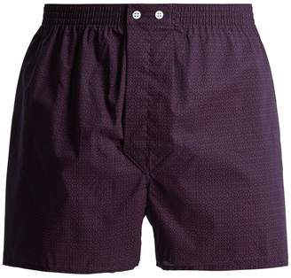 Derek Rose Nelson cotton boxer shorts