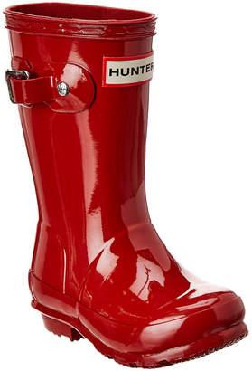 Hunter Kids Gloss Welly Rain Boot