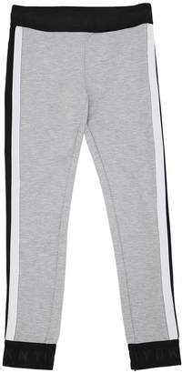 DKNY Stretch Cotton Interlock Leggings