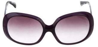 Emilio Pucci Oversize Logo Sunglasses