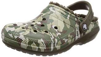 Crocs (クロックス) - [クロックス] サンダル クラシック ラインド グラフィック 2.0 クロッグ Camo/Dark Camo Green 28 cm