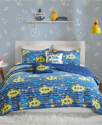 Hawkins Urban Habitat Kids 5-Pc. Full/Queen Cotton Coverlet Set Bedding