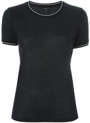 Rag & Bone contrast trim T-shirt
