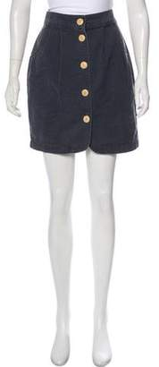 Steven Alan Denim Mini Skirt