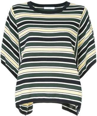 ASTRAET striped jersey T-shirt
