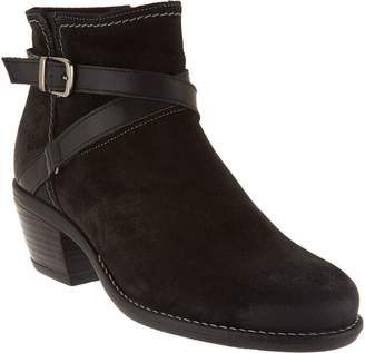 Bos. & Co. Water Resistent Suede Ankle Boots - Greenville
