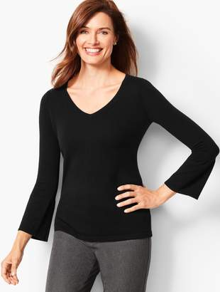 Talbots V-Neck Cashmere Sweater