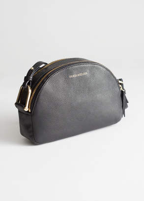And other stories Leather Half Moon Crossbody Bag fb8e450a2aa02