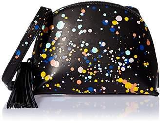 Loeffler Randall Crossbody Pouch (Splatter Paint Nappa/Tassel)