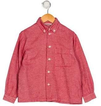 Rachel Riley Boys' Collared Button-Up Shirt