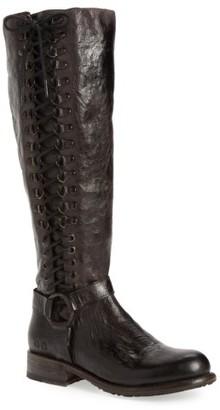 Women's Bed Stu Burnley Knee-High Corset Boot $384.95 thestylecure.com
