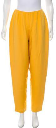 Bill Blass High-Rise Straight-Leg Jeans
