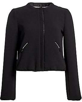 Emporio Armani Women's Tech Crepe Padded Cropped Jacket