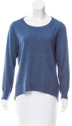 Michael Kors Rib Knit Scoop Neck Sweater