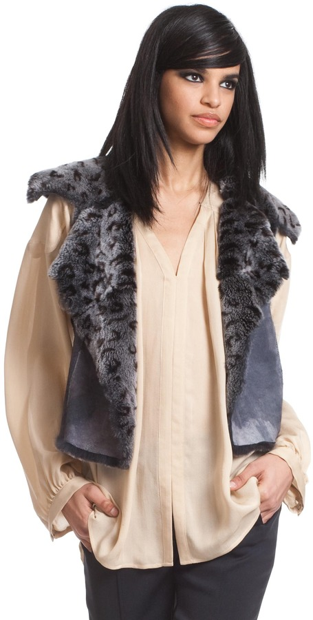 Tracy Reese Fur Vest