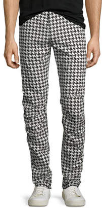 G Star G-Star Powel Houndstooth Tapered Jeans