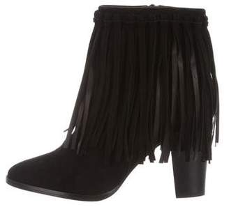Polo Ralph Lauren Fringe Ankle Boots