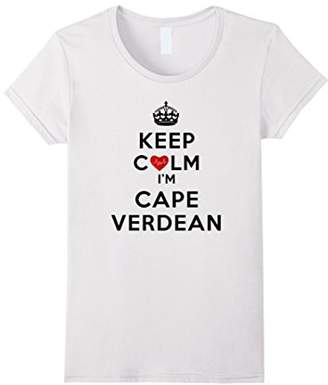Keep Calm I'm Cape Verdean - Parody T-Shirt