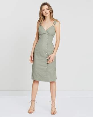 Atmos & Here Longline Pinnie Dress