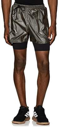Siki Im Men's Compression Running Shorts - Gold