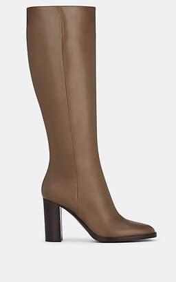 Gianvito Rossi Women's Josseline Leather Knee Boots - Beige, Tan