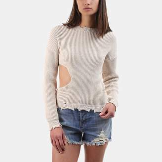 Iro . Jeans Iro Jeans Eby Distressed Cutout Sweater