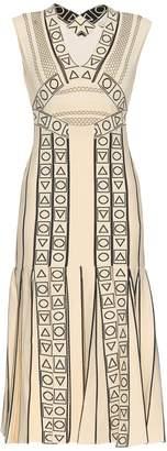 Peter Pilotto Indix V-neck jersey dress