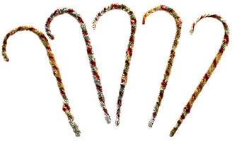 Mercury Bead Tinsel Ornaments
