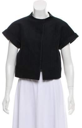 Chloé Silk Collarless Jacket
