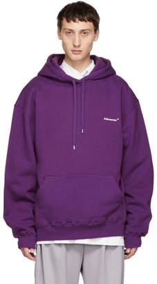 ADER error Purple Basic Hoodie