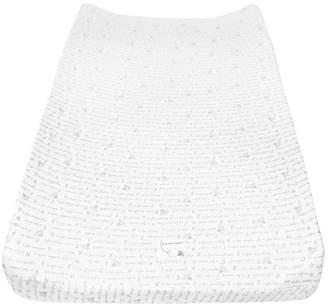 Burt's Bees Alphabet Bee Organic BEESNUG Fitted Changing Pad Cover