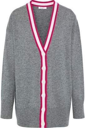 Equipment Gia Striped Melange Cashmere Cardigan