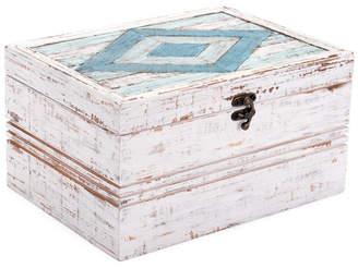 ZUO Rombo Antique Box White