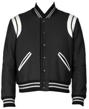 Saint Laurent Teddy Wool Blend Jacket