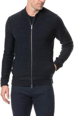 Rodd & Gunn Fairton Regular Fit Wool Zip Front Sweater