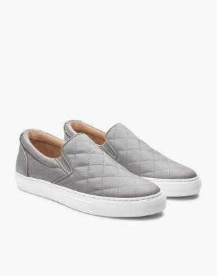 Madewell GREATS Wooster Quilted Slip-On Sneakers