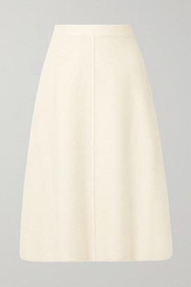 e9533ff203 Co Alpaca And Wool-blend Midi Skirt - Cream